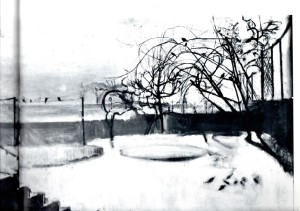 A Winter Morning 1944 by Victor Pasmore