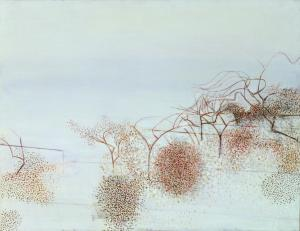 The Gardens of Hammersmith no 2 by Victor Pasmore